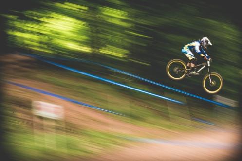 Shutter speed or warp speed blur?