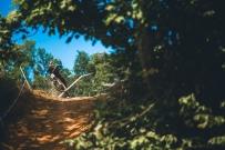 Matt Sky Walker making free-fall look stylish.