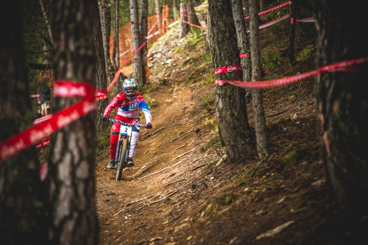The stoic American, Aaron Gwin, is a force to be reckoned with, and at his best, is unstoppable. My best for 2015 World Champ, but a crash in finals means it will be another year until he can try and earn the stripes.
