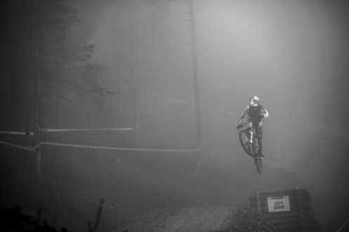 Bizarre weather was just par for the course while in Andorra, but being the Champion that she [now] is, Rachel Atherton has no issues cutting through the terrible visibility, and sought out the race-winning lines with purpose.
