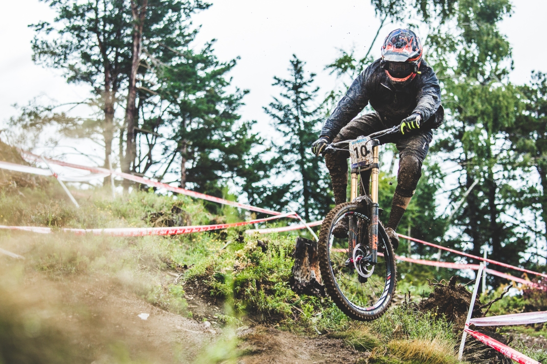 """The classic """"Blenki"""", Sam Blenkisop told me that he felt like his old self on the bike at World Champs, and it wasn't just a gut feeling, he was looking the best he had all year, and then some. Good to end on a high note I say."""
