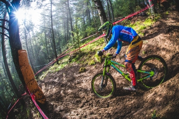 """This could be mistaken for """"Foot Out, Flat Out"""", but it's more a case of """"Tripodding"""". It was a battle for anyone out on the hill in Andorra, Squids included."""
