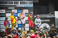 It was a truly memorable occasion, to witness history being made with Greg winning is 18th World Cup, Loic nearly winning, and Dean getting his first podium (a 3rd no less!). A tremendous race to have attended!