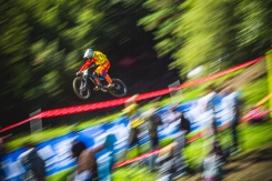 A top contender in the Juniors, Alex Martin Trillo was one of the underdogs with potential to medal, especially after a strong season. However, like this not-quite-sharp-pan, there is still room for improvement, but good [helmet] flare will still get worthy attention.