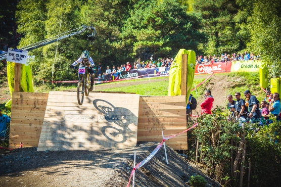 The pint-sized German rider, Sandra Rubesam was a relatively unknown rider to most of us, but her steady and confident riding made her stand out. Hope to see more of her on the World Cups next season.