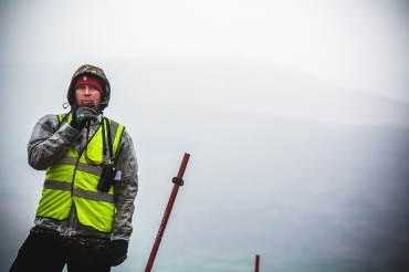 Marshal #6, Ian Jones, is as much a part of the race at Fort William as the peat bogs are part of the landscape. @marshal_6