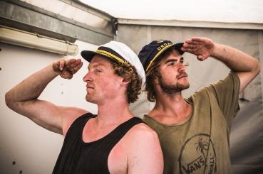 Captain Lizzy and Salty Dave. #boatzacs