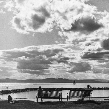 I spent six years enjoying this view in downtown Burlington, Vermont. This angle has been shot endlessly, but it is an iconic spot by the water, and on where I have spent many a time just gazing out towards the setting sun. ||Summer 2013 | Burlington, VT ||