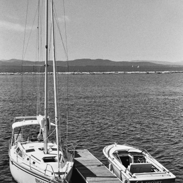 "The ""Escort"" docked next to the ""Mistress""...well then! || Summer 2013 | Burlington, VT ||"