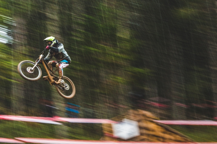Rider In The Rain 1/25th Andorra