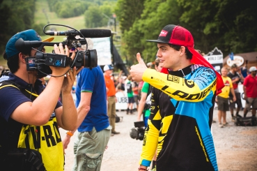 Loris impressed the hell out of everyone, and was well-pleased with his race at Windham; Mono (@creativeconcept.tv) documenting it all!