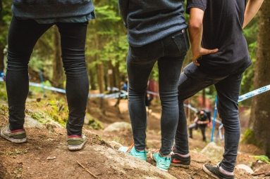 Can you name the rider associated with each set of legs? #jeggings