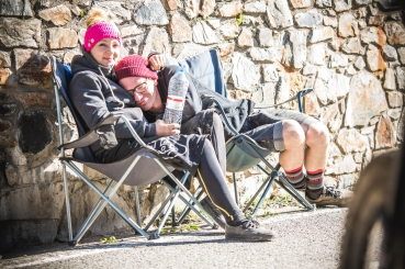 Sandra Rubesam was not someone I was familar with before Andorra, but she won me over with her riding and the fact that she practiced in a tie-dye hoodie. Here she warms up in the sun with her partner. To see what she gets up to: @thundercaaat