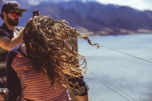 LIke, really windy.