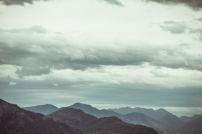 Wanaka in the clouds