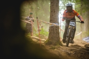 """There is defintely a punch line about a mountain bike rider from a country that is mostly below sea level...Tom Bersselaar making his own """"Jamacan Bobsled Team"""" dream happen!"""