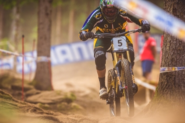 "He may have ""only"" seeded in 10th, but Greg Minnaar accounts for literally all of South Africa's World Champs medals, and in doing so, put SA 3rd in the all-time medal rankings...G.O.A.T. for a damn good reason."