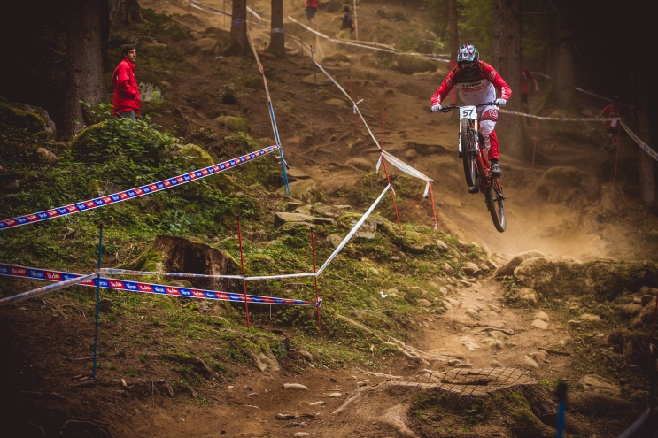 """When your nickname rhymes with """"Huck"""", you're bound to be a sender - Charlie Harrison boosting into 20th in seeding."""