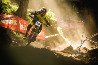 Sam Blenkisop has such effortless style on a bike, he makes even the roughest of tracks look relaxing.