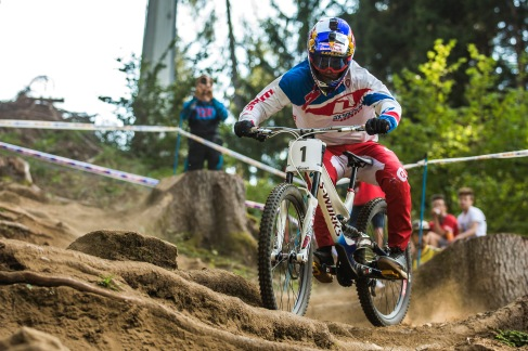 You would not know Loic Bruni missed most of the season. On point, all day.