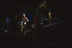 World Champs has a different pace to the week, and it seemed riders were taking things a little more seriously, though slowly. Connor Fearon was practicing with teammate Josh Button, but spent a good portion of the day riding solo.