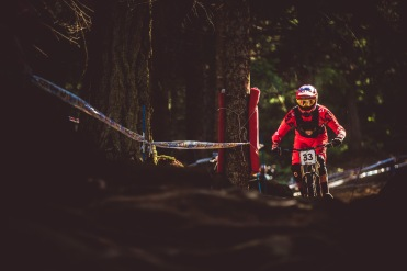 Today Neko Mullaly looked his best on a bike all year. When the going gets rough, he gets stoked - look out.