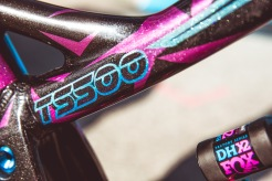 """Tahnee Seagrave, redefining """"riding like a girl"""", and changing the name of bikes, all in one go."""