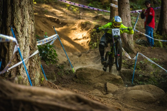Looses Riding Of The Day Award goes to Roger Novack Vieira or Brazil. He seems to ride at 117%, all the time.