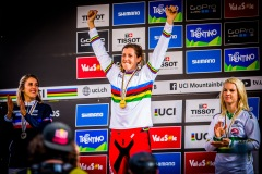 Her fourth Gold, Rachel Atherton, remind us all that winning nevre gets old.