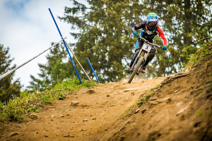 Danny was on another level in Lenzerheide. He looked different on track and had a general air about him. There is so much confidence in this shot.