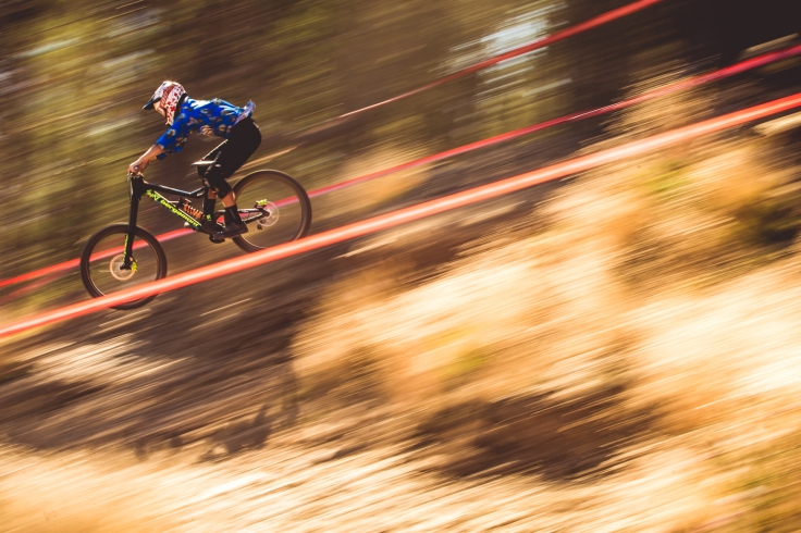 The original caption of this photo does the shot justice: Kurt McDonald put in a damn good weekend of riding. He rode smart and confidently, and only missed qualifying for his first World Cup ever by around 4 seconds in 102nd place. Not bad for someone with a day job!