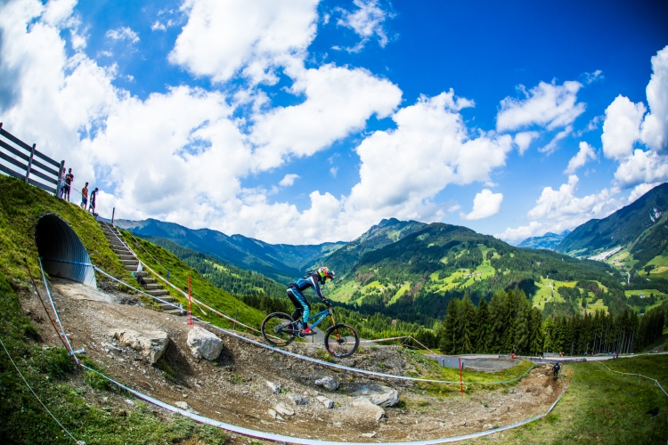 First run down, and Danny Hart was already looking for sneaky inside lines in Leogang. It was forehadowing surely.