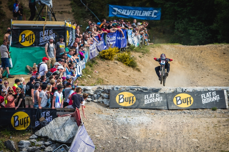 Luca Shaw has found the recipe for success with his smooth and aggressive riding. He has thus far improved his results by around half at each race this year (21/13/6), so half of 6th at Leogang seems very possible.