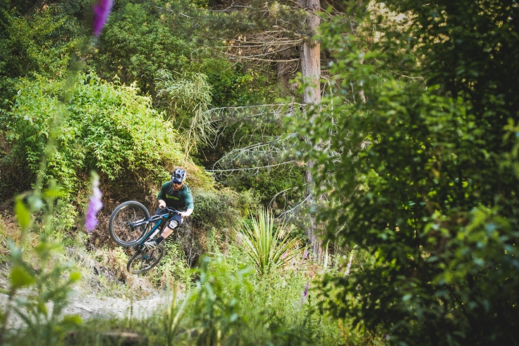 7 Mile is a maze of trails, so it's wise to grab a map or a friend to lead the way. Craig Munro finds some airtime on Kachoong.