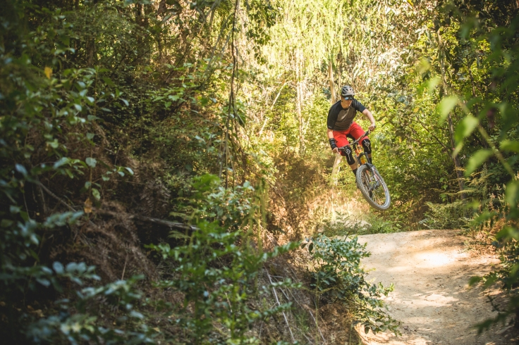 Kachoong is the best trail to end on at 7 Mile because it is just jumps, corners, and more jumps right down to the water.